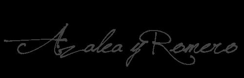 Azalea y Romero