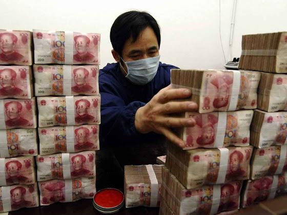 Wei Pengyuan: as notas apreendidas em sua mansão pesavam 2,2 toneladas.