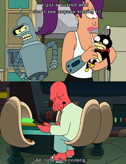 futurama zoidberg bender busted ass kiss comming, bender futurama, zoidberg futurama, futurama kiss ass, bender kiss ass, zoidberg kiss ass