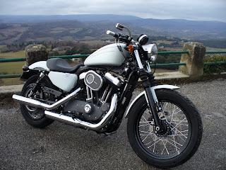 Harley Davidson Sportster Custom racer