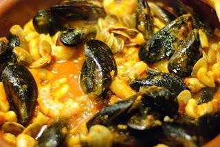 fruits de mer à la péruvienne