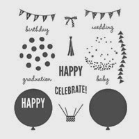 Celebrate Today Photopolymer Stamp