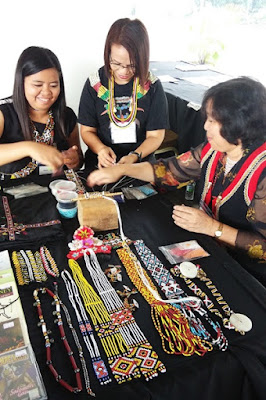 Native bead necklace at BIBCo Kuching