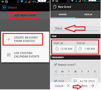 Auto Silence your Android Phone Auto change back,how to auto silence mode phone,automatically silence mode of phone,automatically vibrate or silence phone,silence,ringer silence,auto silence in phone,silence phone,android phone,How to Use Silence,vibrate phone,event silence mode in phone,Repeat Event,Add New Toggles,silent or vibrate mode,Ringer Notification silence,meeting,conference,phone slient,auto phone silent