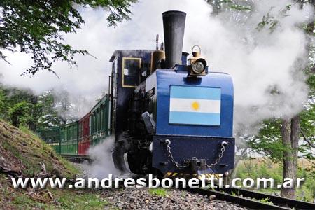 Tren del Fin del Mundo - Ushuaia - Train of the End of the World - Patagonia - Andrés Bonetti