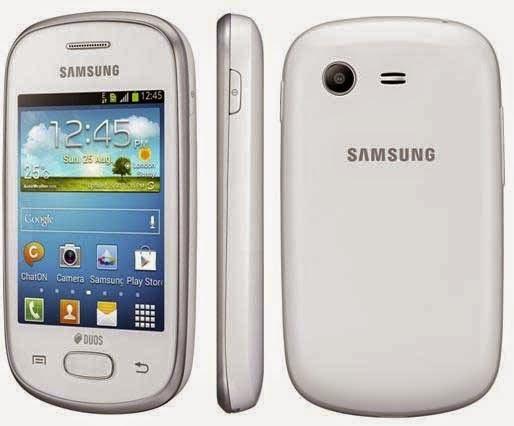 Samsung Galaxy Star, Smartphone Android Murah Bisa BBM