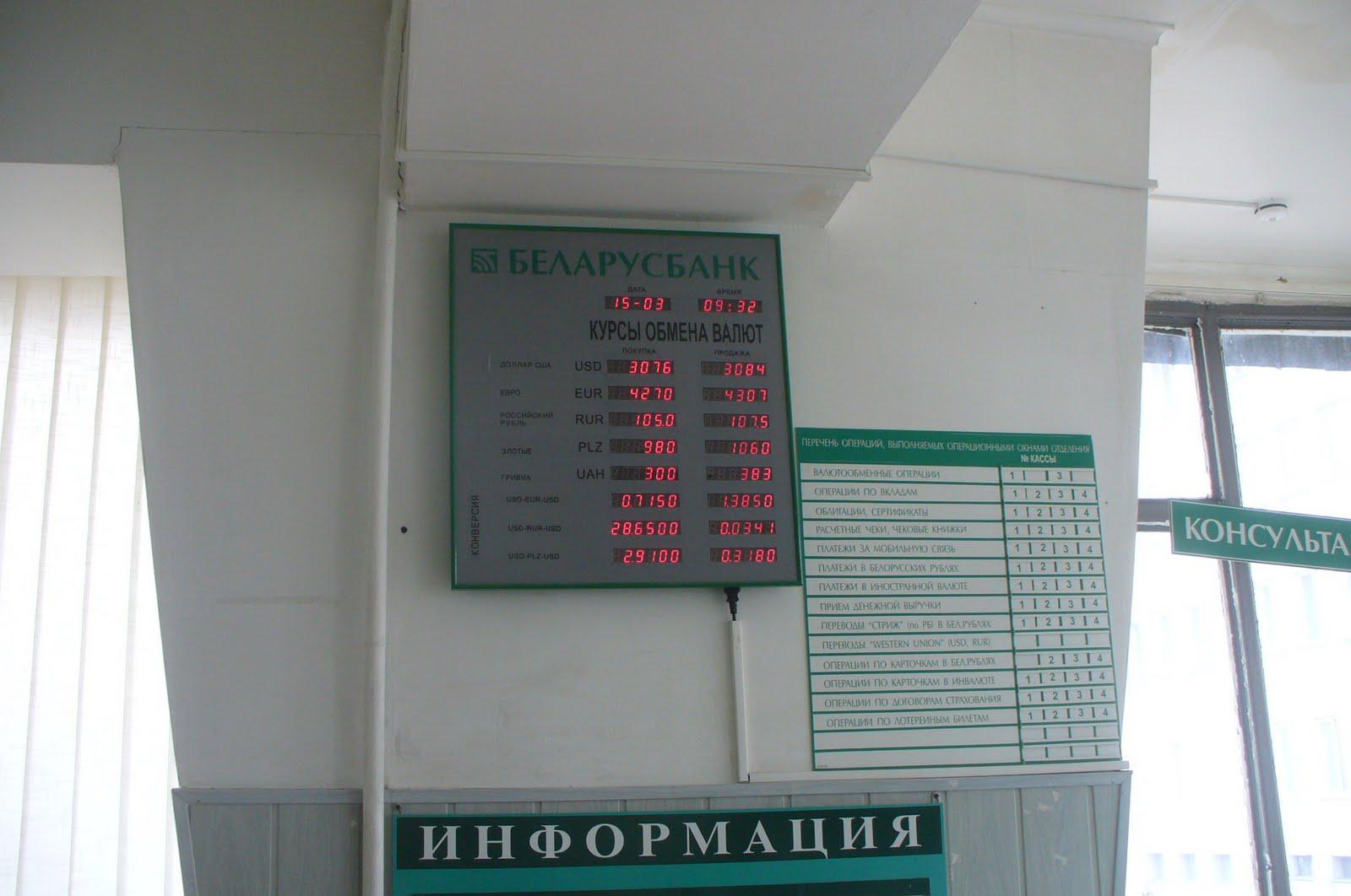 Курсы валют август