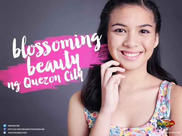 """Blossoming Beauty ng Quezon City"" - Zonia"