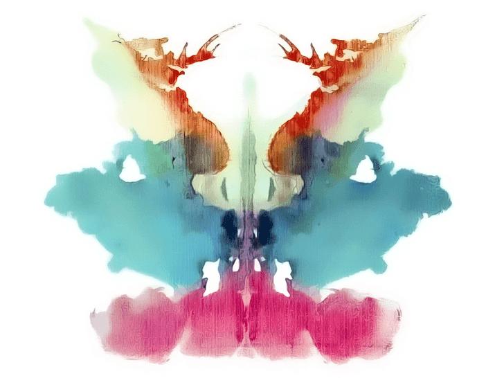 Lámina de Rorschach 9