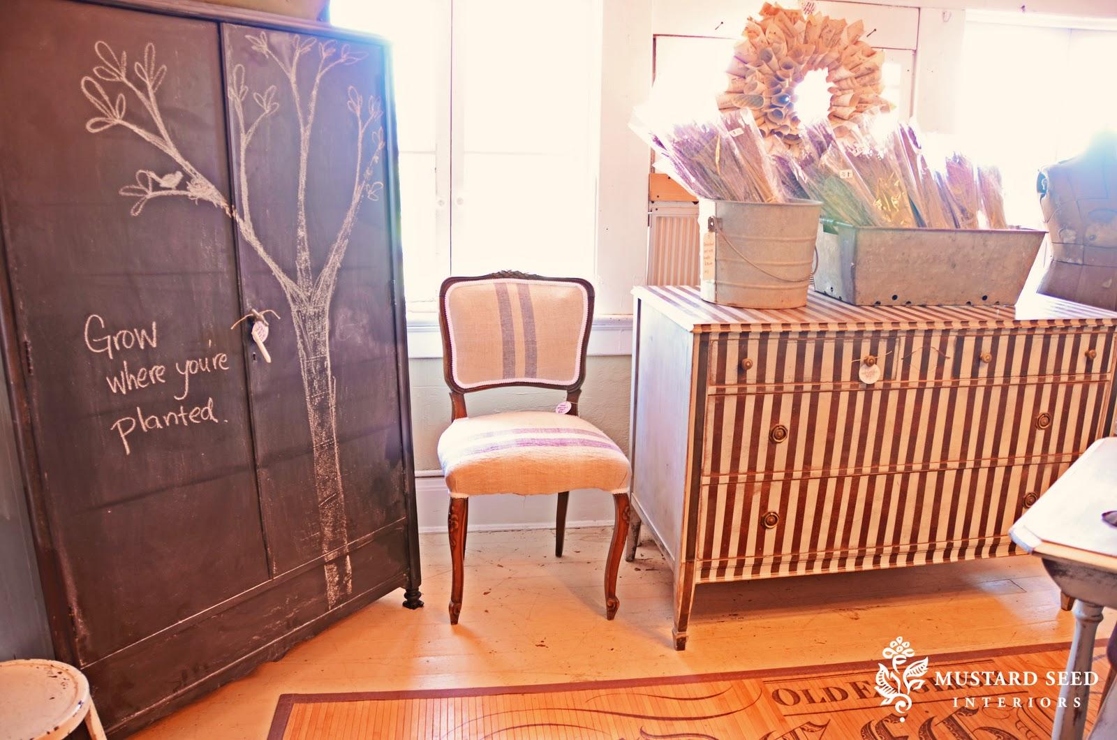 chalkboard armoire princess dresser miss mustard seed. Black Bedroom Furniture Sets. Home Design Ideas