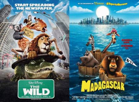 Madagascar (2005) / The Wild (2006)