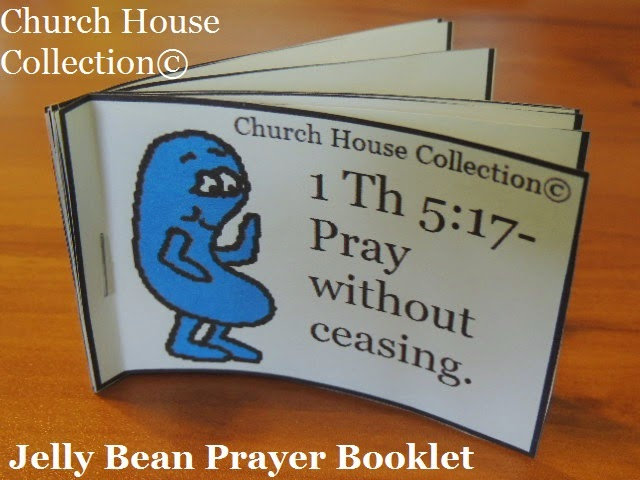 Jelly Bean Prayer Booklet