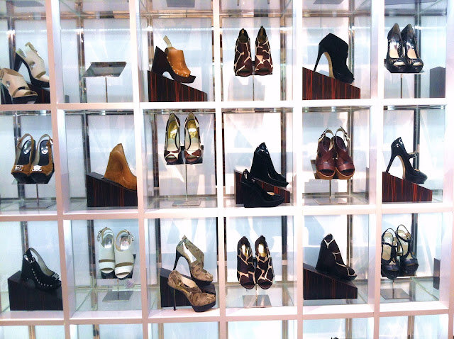 Center Stage at Herald Square, MACY'S Shoe Salon