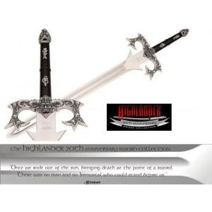 Highlander sword of Kurgan