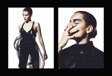 'Unforgiving' Editorial by Rio Romaine for GLASSbook