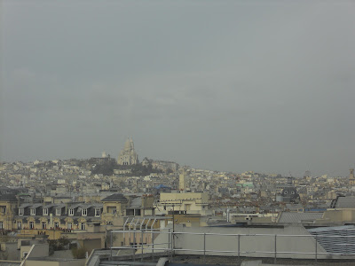 Montmartre from center of Paris