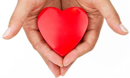 6 Ways to Detoxify Your Heart - heart in hand holding man