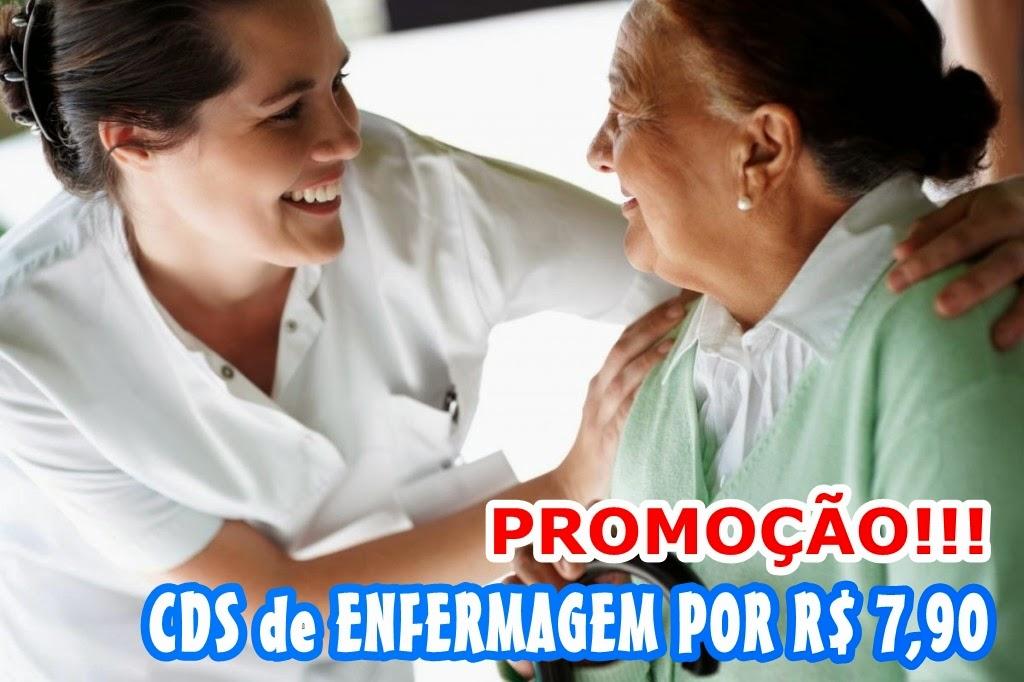 Cds de Enfermagem por R$ 7,90. Frete Grátis!