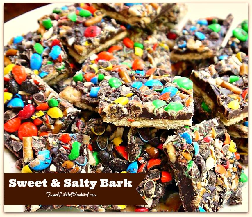 Sweet Little Bluebird: Sweet & Salty Bark (a.k.a Crack)