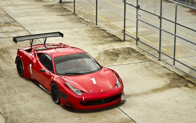 Ferrari 458 Italia Red Cars Wallpapers