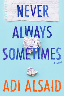 Never Always Sometimes by Adi Alsaid book cover
