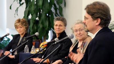 Mary Catherine Bateson, Jane Fonda, Roshi Joan Halifax, Walter Link