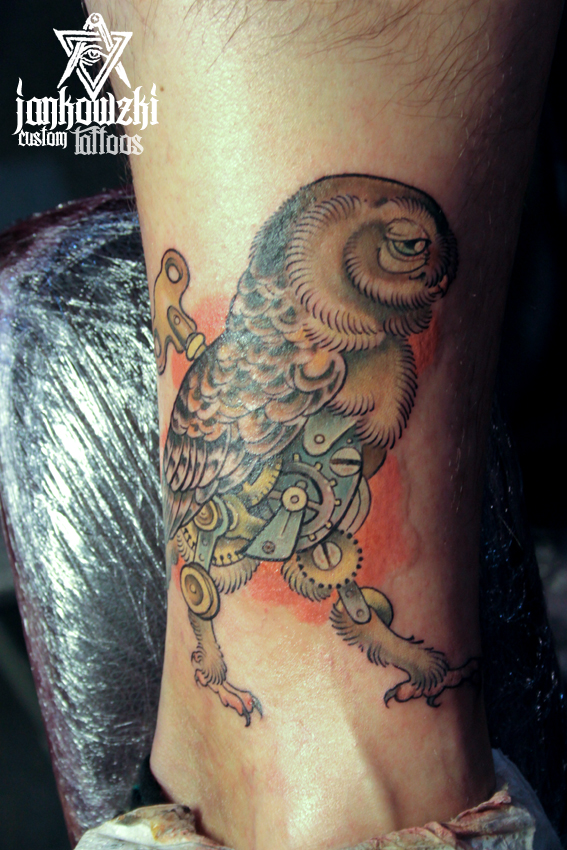 Jankowzki custom Tattoos: Brussels Tattoo Convention