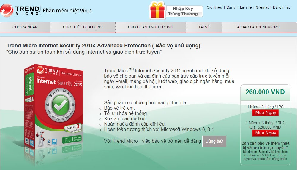 Trend Micro Internet Security 2015