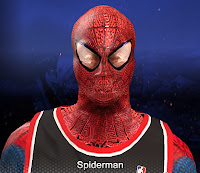 2K NBA 2K14 Spider-Man Cyberface