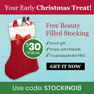 Free Beauty Filled Stocking