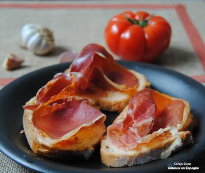 image pain a la tomate