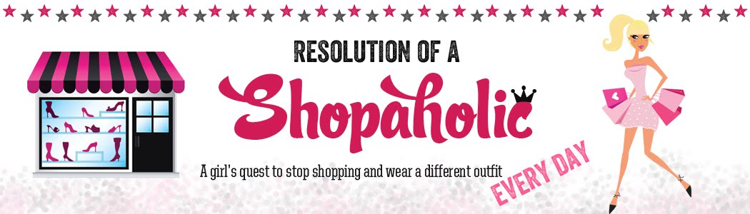 Resolution of a Shopaholic