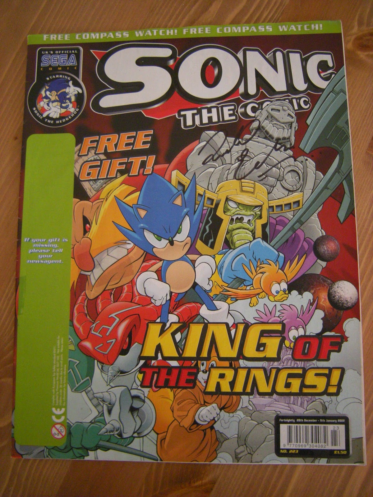 King of the rings, the final issue