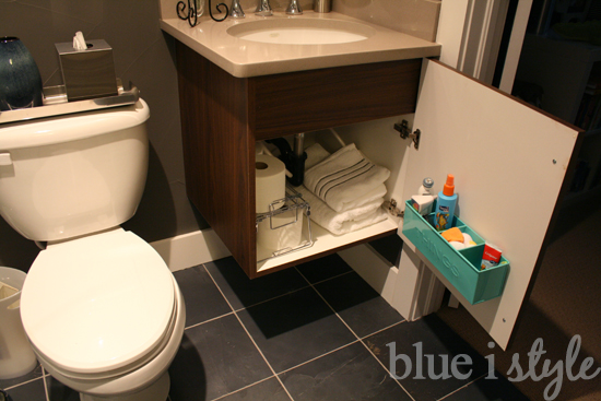 Bathroom Cabinets For Storage organizing with style} bathroom storage outside of the bathroom