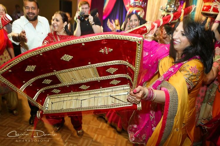 Mehndi Ceremony Rituals : Zenia paul punjabi wedding rituals lots of them
