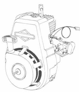 Briggs and Stratton Snow Engine