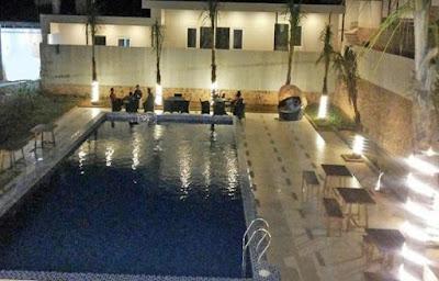 malam hari di hotel dseason karimunjawa