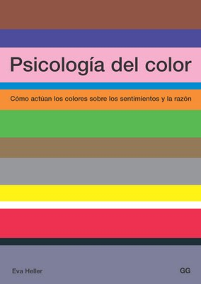 Portada de 'Psicología del color' de Eva Heller
