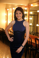 Anushka Sharma in Beautiful Dark Blue Sleeveless Gown