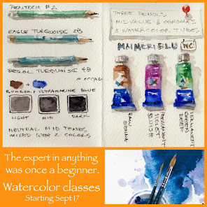 Spring Watercolor Classes