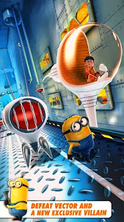 Despicable me apk running