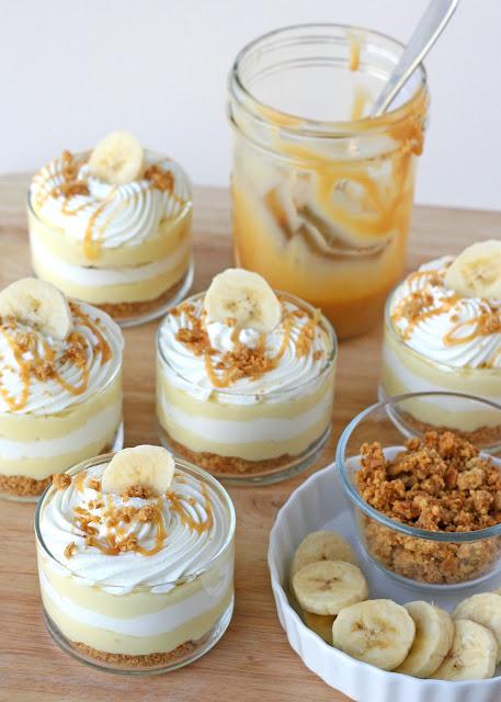 Banana Caramel Cream Dessert - A simply amazing dessert!