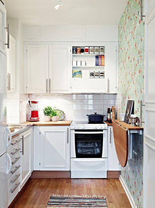 Top HOME & GARDEN: 35 idées pour aménager une petite cuisine BL91