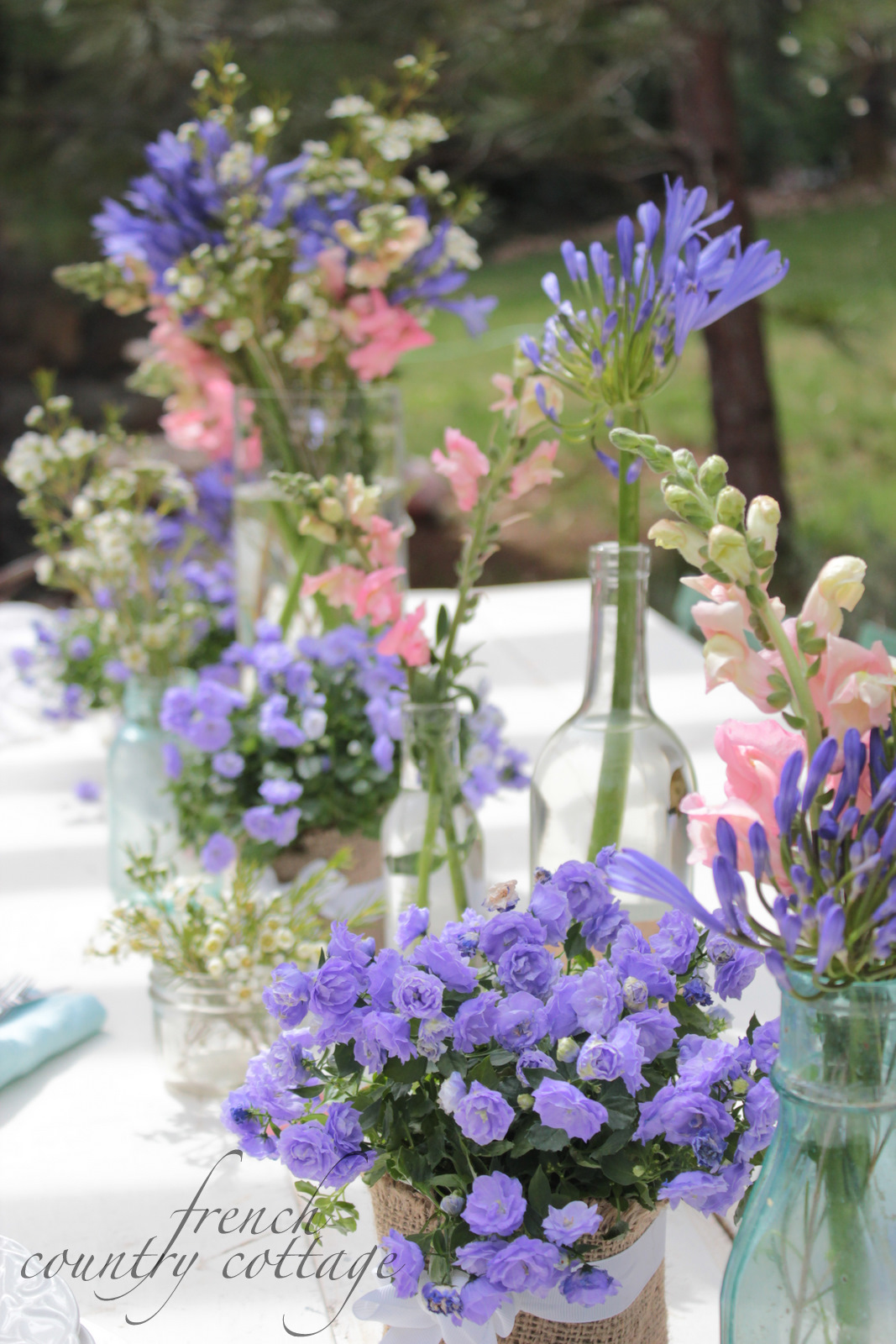 Setting a Simple Table FRENCH COUNTRY COTTAGE