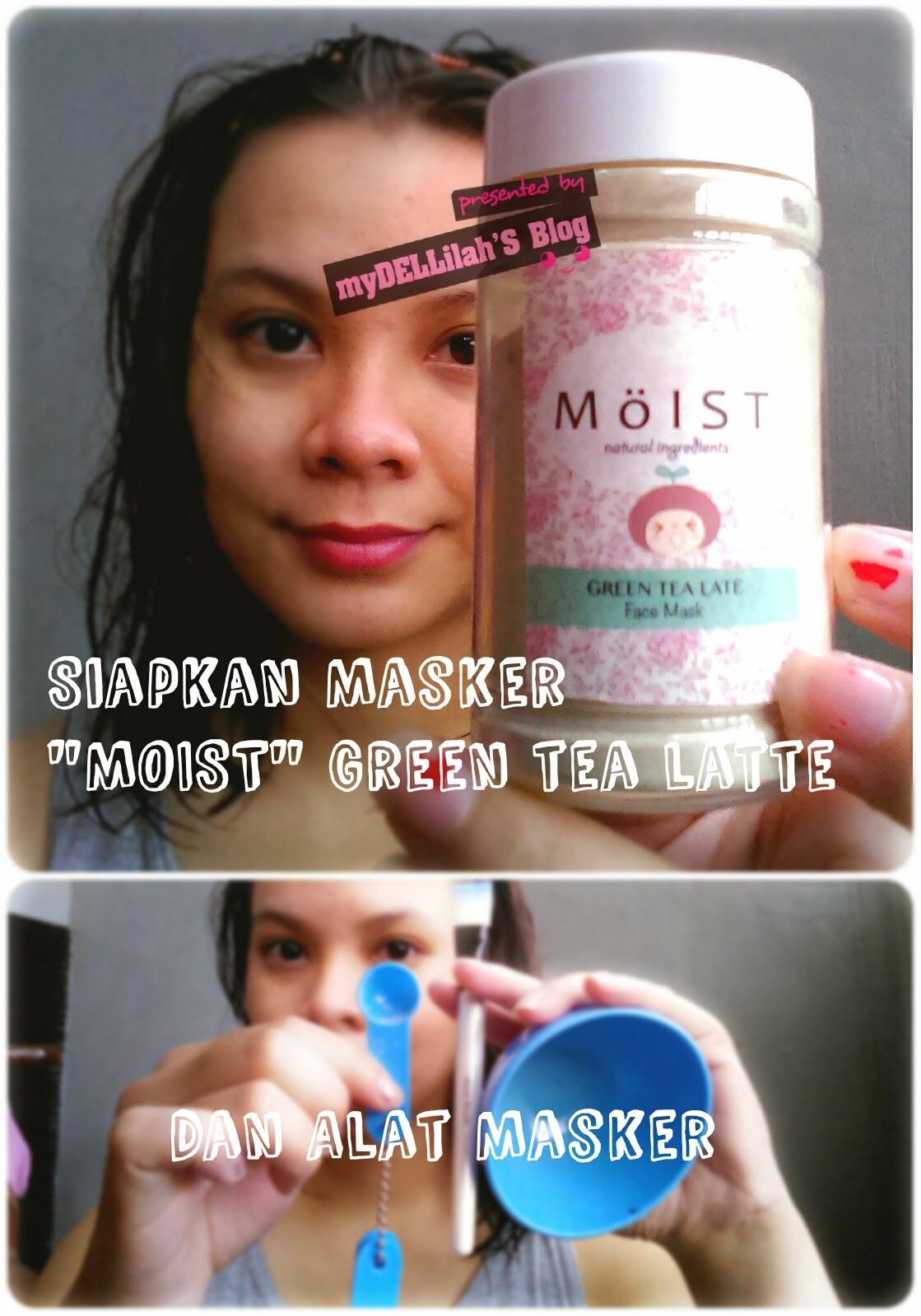 moist masker bubuk organik