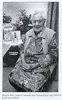 Rosalia Rens 1896-1999, bleef geheel haar leven werken in de steenbakkerijen van Rumst