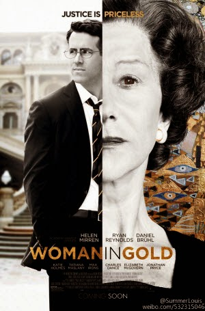 Woman in Gold: Theatrical Poster