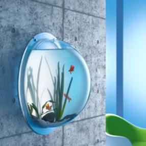 Friday inspirations hoy decoramos con acuarios - Peceras de diseno ...