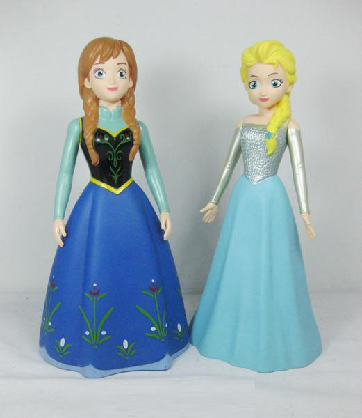 Jual Action Figure Frozen Anna Elsa Bank Celengan
