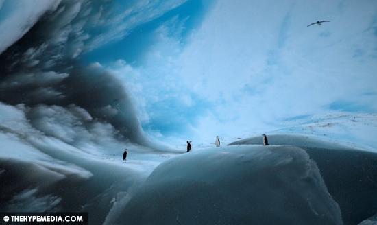 NASA Dedah 3 Gambar Menakjubkan Bongkah Ais Berwarna Hitam